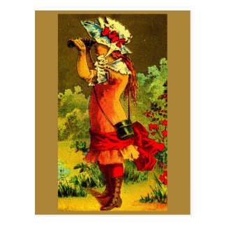 Cartão Postal Birdwatcher