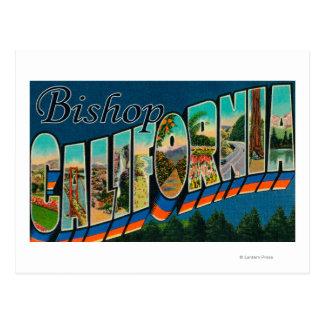 Cartão Postal Bishop, Califórnia - grandes cenas da letra