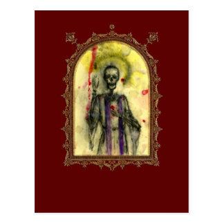 Cartão Postal Bishop dos azuis do VooDoo