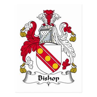 Cartão Postal Bishop Família Crista