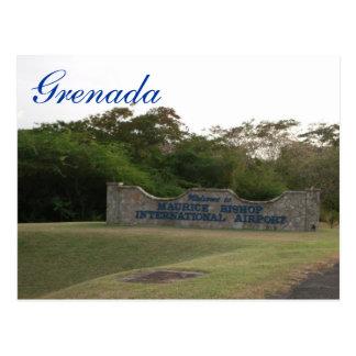 Cartão Postal Bishop Internacional Airp de Grenada