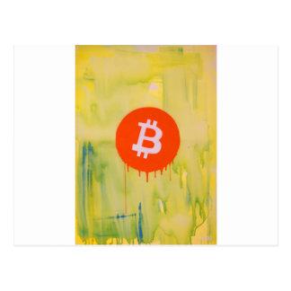 Cartão Postal Bitcoin