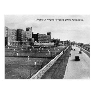 Cartão Postal Blackpool, energia hidráulica de Norbreck