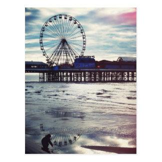 Cartão Postal Blackpool (Reino Unido)