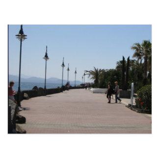 Cartão Postal BLANCA de Playa, passeio, Lanzarote