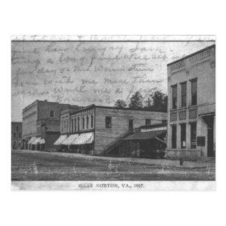 Cartão Postal bloco 700 de Norton, Virgínia em 1907.