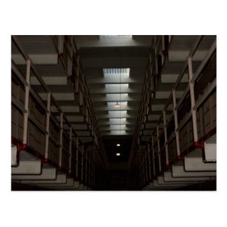 Cartão Postal Bloco de pilha de Alcatraz - nível superior