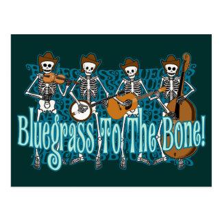 Cartão Postal Bluegrass ao osso!