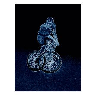 Cartão Postal Bmx do mtb de Llandegla do Mountain bike
