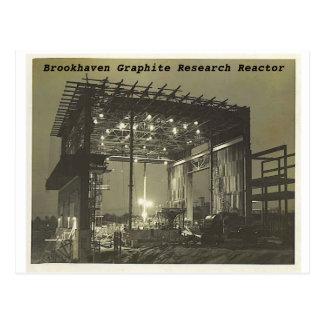 Cartão Postal bnlreactor3, reactor de investigação da grafite de