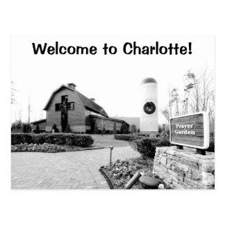 Cartão Postal Boa vinda a Charlotte!