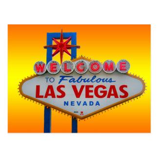 Cartão Postal Boa vinda a Las Vegas
