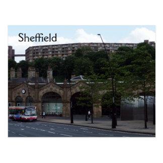 Cartão Postal Boa vinda a Sheffield