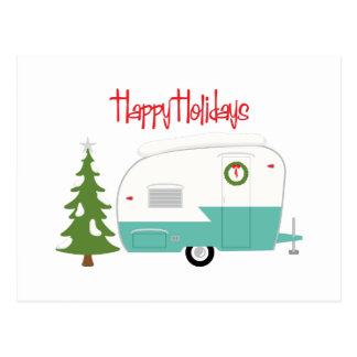 Cartão Postal Boas festas