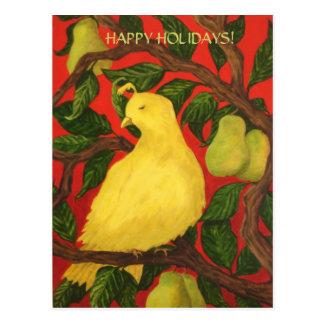 Cartão Postal Boas festas!