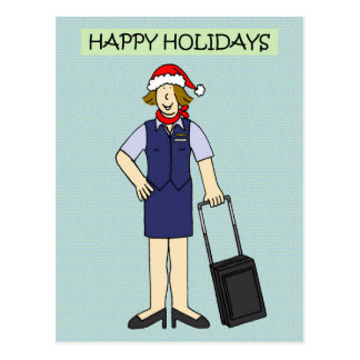 Cartão Postal Boas festas a ou do grupo da cabine