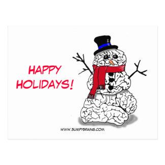 Cartão Postal Boas festas de Snowbrain