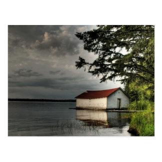 Cartão Postal Boathouse velho