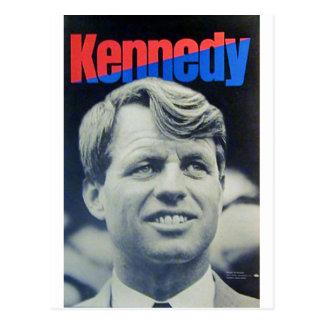 """Cartão Postal Bobby Kennedy """"68"""