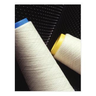 Cartão Postal Bobina do fio de algodão