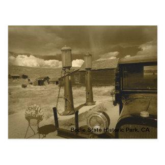 Cartão Postal Bodie Dodge Graham & Sepia do chá