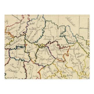 Cartão Postal Boémia, Moravia, austríaco Silesia