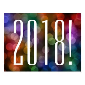 Cartão Postal bokeh 2018