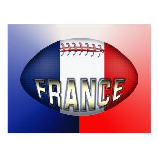 Cartão Postal Bola de rugby de France