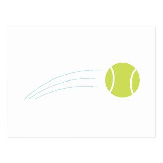 Cartão Postal Bola de tênis