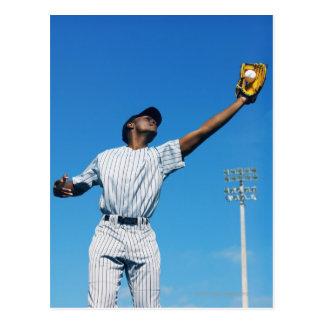 Cartão Postal bola de travamento do jogador de beisebol (16-20)