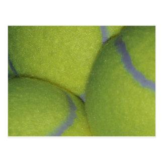 Cartão Postal Bolas de tênis