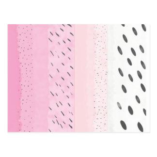 Cartão Postal Bolinhas do rosa Pastel