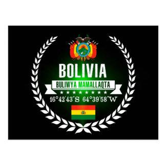 Cartão Postal Bolívia