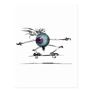 Cartão Postal Bom olho
