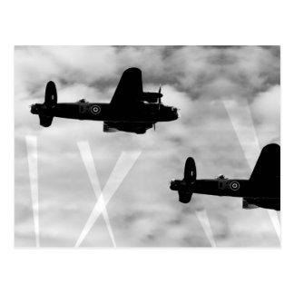 Cartão Postal Bombardeiro de WW2 Avro Lancaster