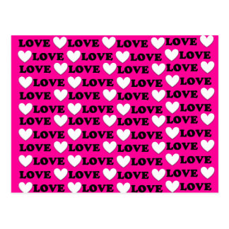 Cartão Postal Bombom é toda sobre o amor - eu te amo