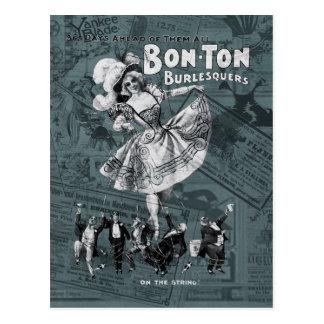 Cartão Postal Bon-tonelada