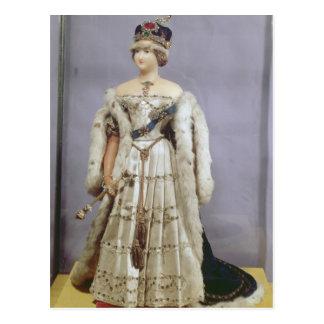 Cartão Postal Boneca da rainha Victoria