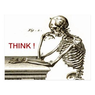 Cartão Postal BONEHEAD o esqueleto de projecto