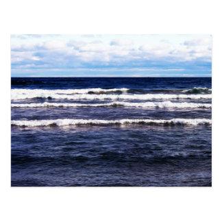 Cartão Postal Bonés do branco do Lago Superior