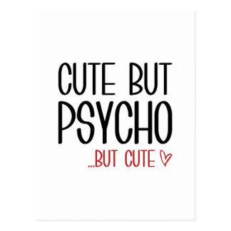 Cartão Postal Bonito mas psicótico
