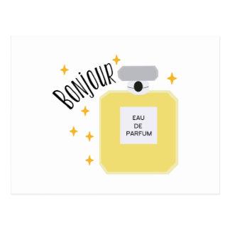 Cartão Postal Bonjour Parfum