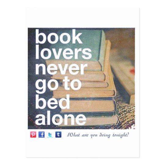 Cartão Postal Book lovers - Amantes de Livros