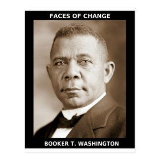 Cartão Postal Booker T. Washington