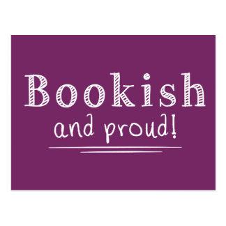 Cartão Postal Bookish e orgulhoso