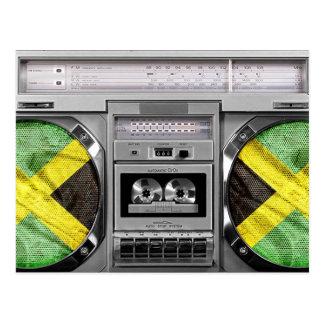 Cartão Postal Boombox de Jamaica