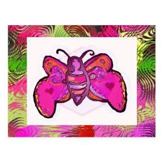 Cartão Postal borboleta
