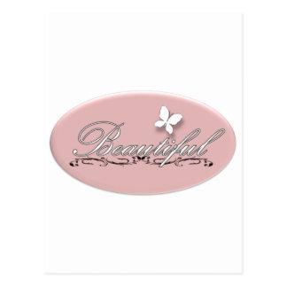 Cartão Postal Borboleta bonita