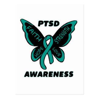Cartão Postal Borboleta/consciência… PTSD