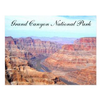 Cartão Postal Borda ocidental do parque nacional do Grand Canyon
